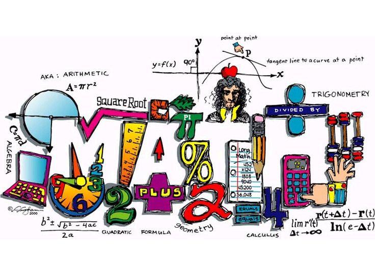 Free Math Teacher Clipart.