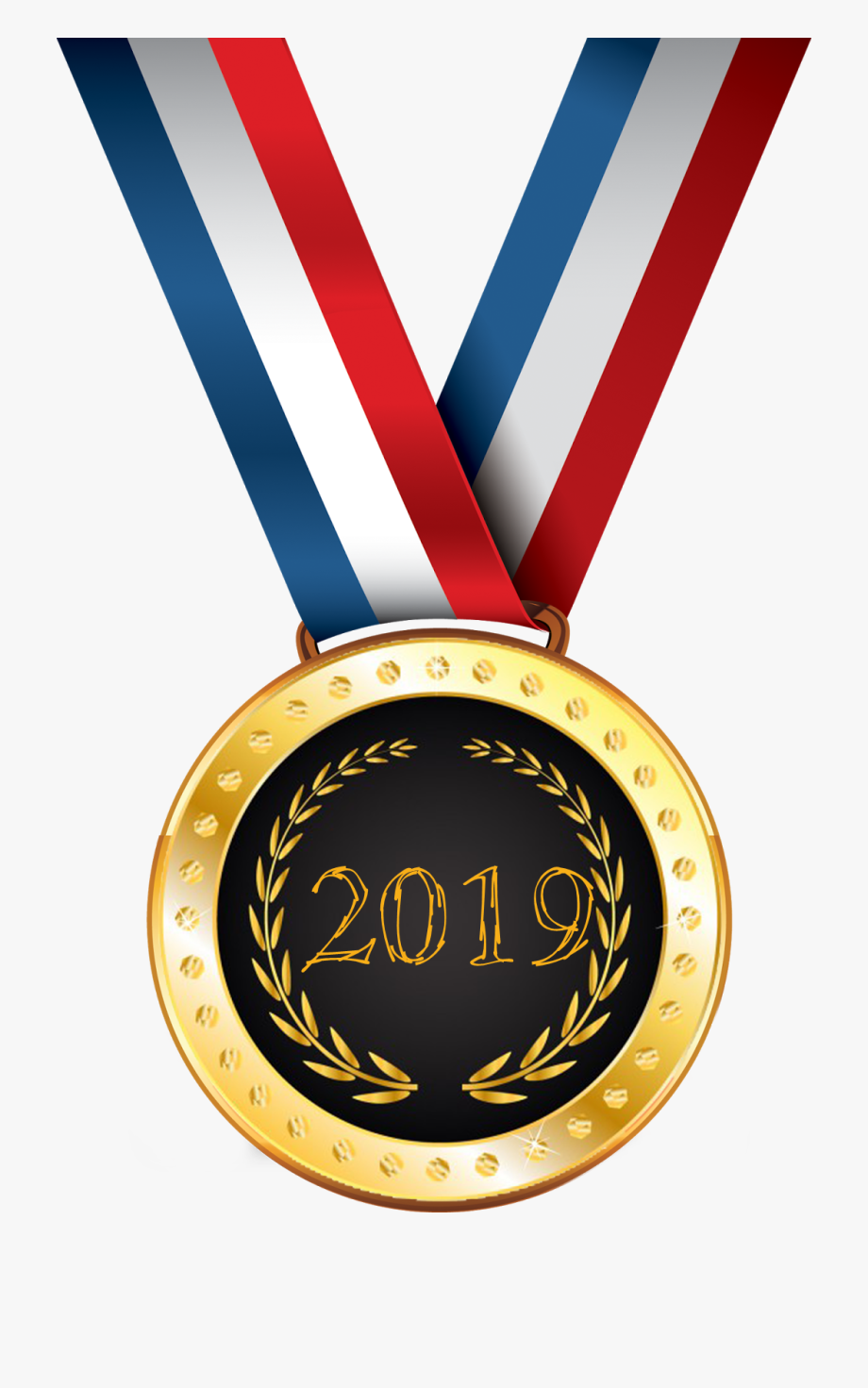 Gold Medal Png Free Images.