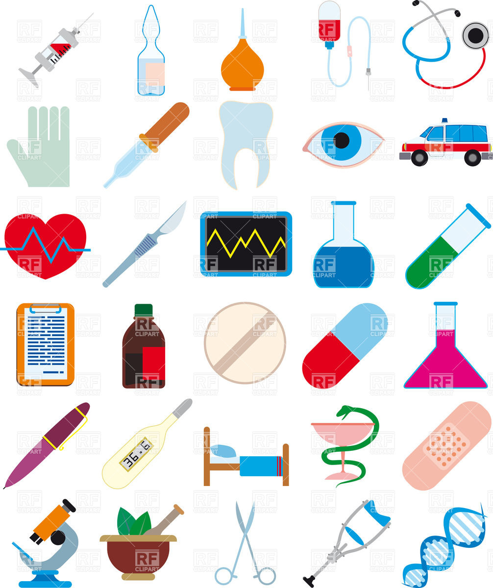 Health And Medicine Clipart.