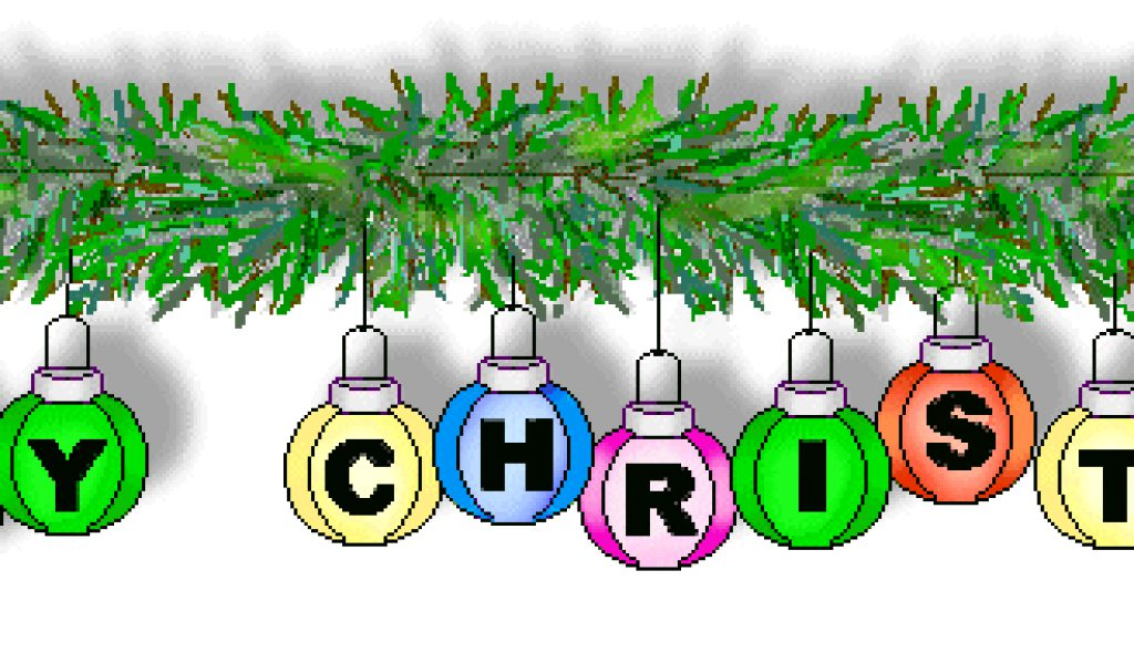 Free Merry Christmas Clip Art.