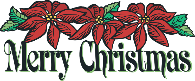 Merry Christmas Clipart Banners.