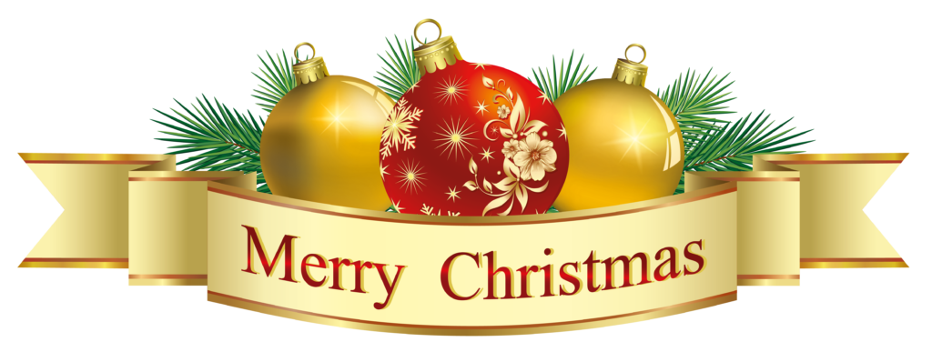 Merry Christmas Banner Clipart Free.