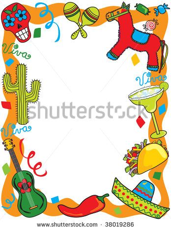 Mexican Border Clip Art.
