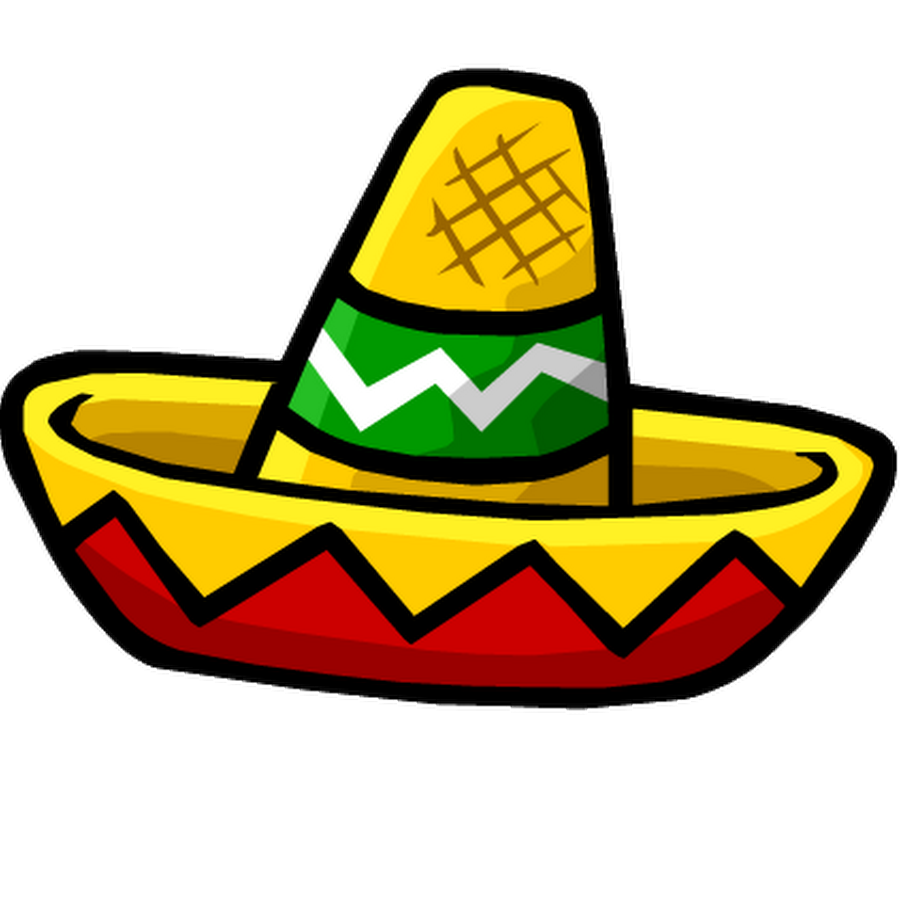Mexican Hat Clipart.