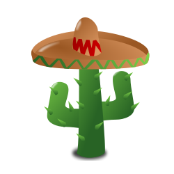 Mexican Themed Clipart.