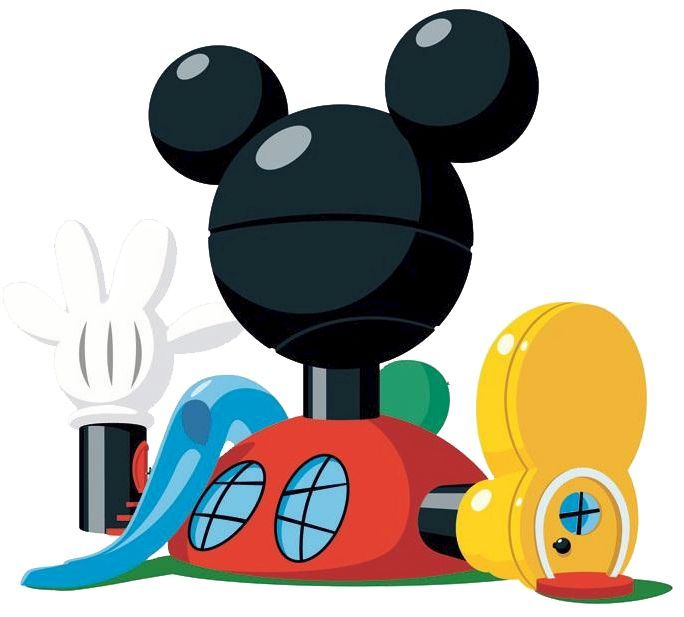 Mickey Mouse Club House Clip Art FREE.