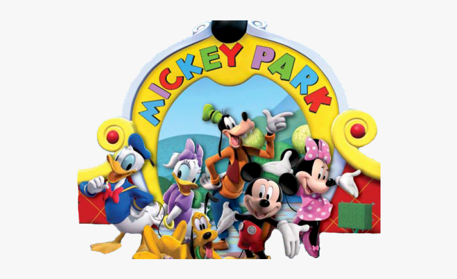 Mickey Mouse Clubhouse Group , Transparent Cartoon, Free.