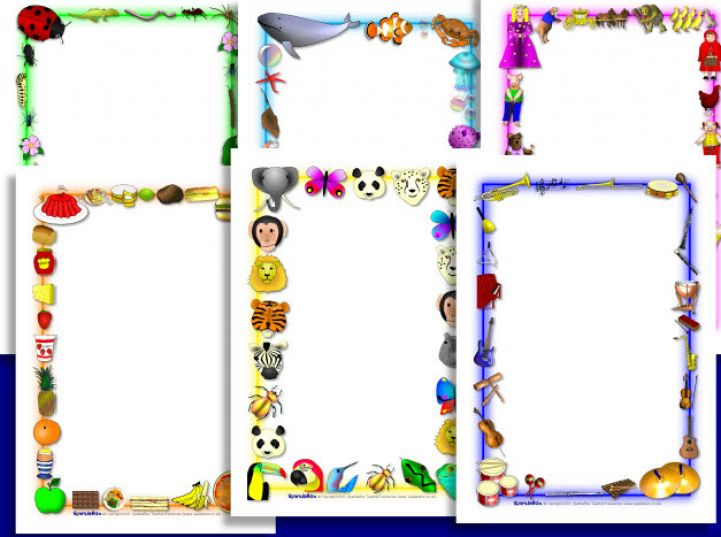 Free Page Borders For Microsoft Word, Download Free Clip Art.