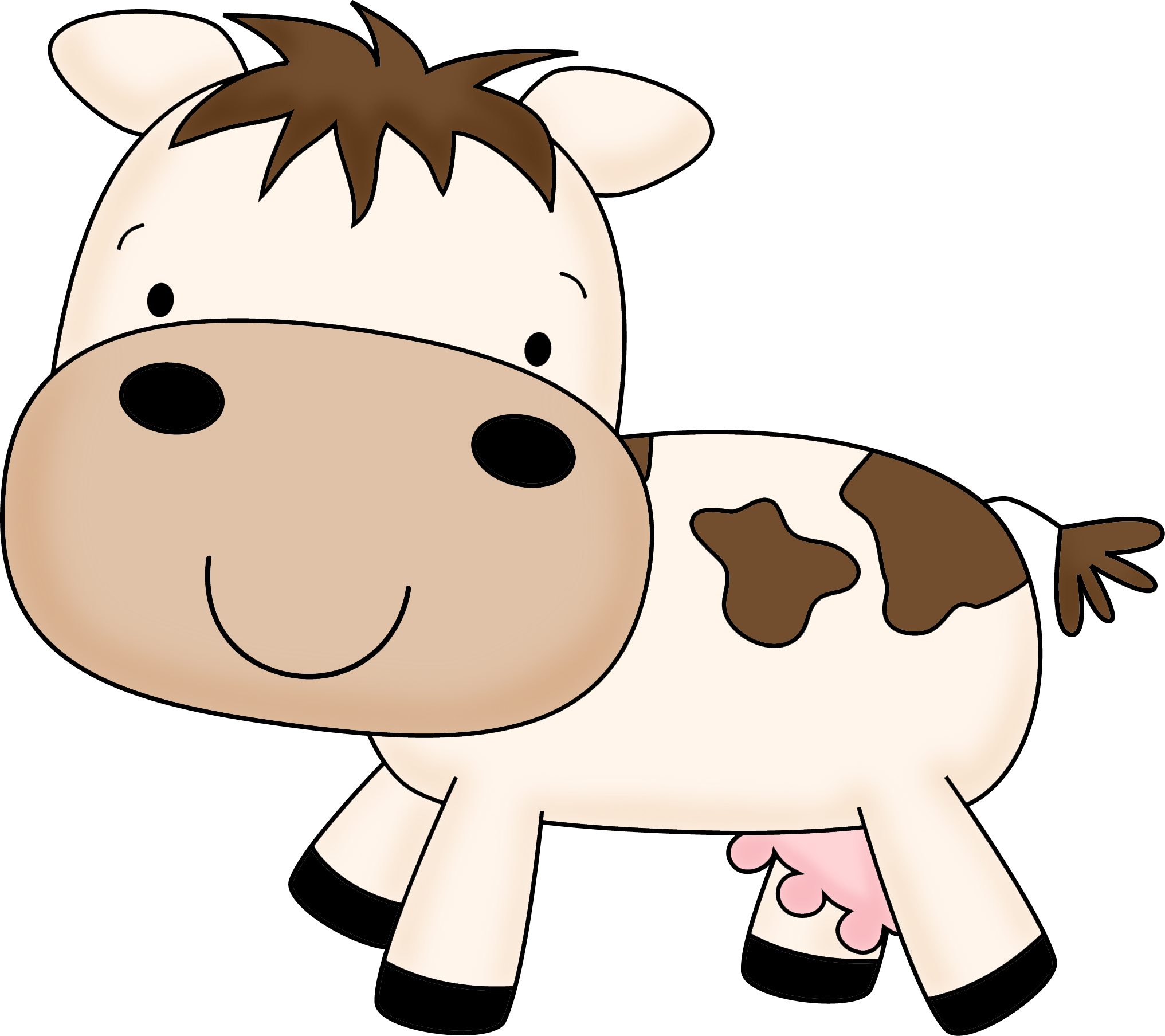 Animal Cliparts Cow.