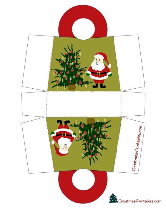 DIY mini Christmas packages