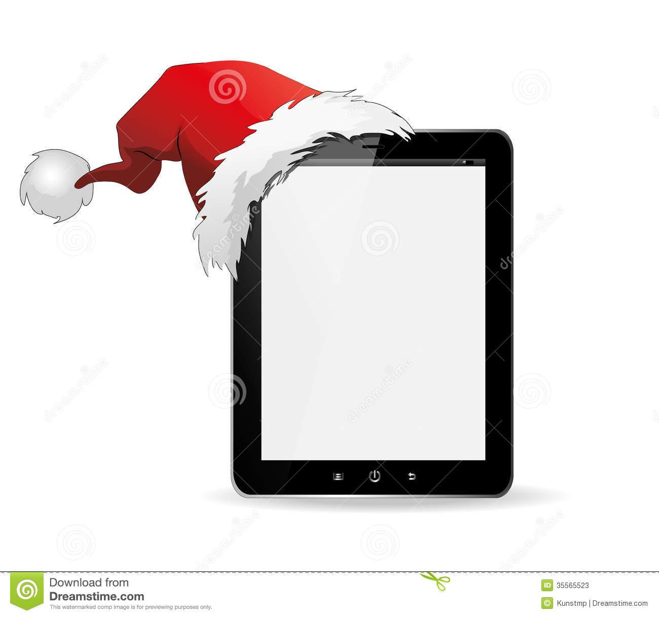 Ipad christmas clipart free.