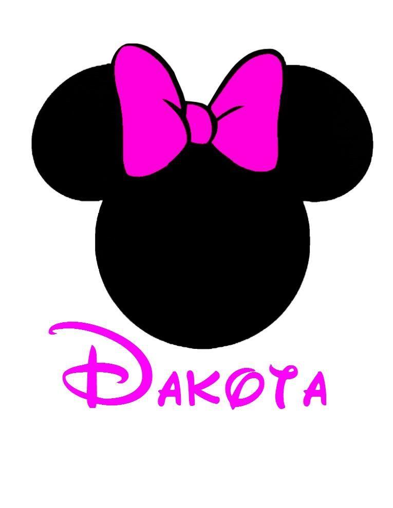 Minnie Mouse Ear Clip Art.