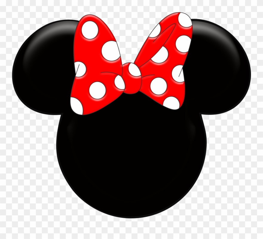 Minnie Mouse Ears Silhouette Clipart Kid.