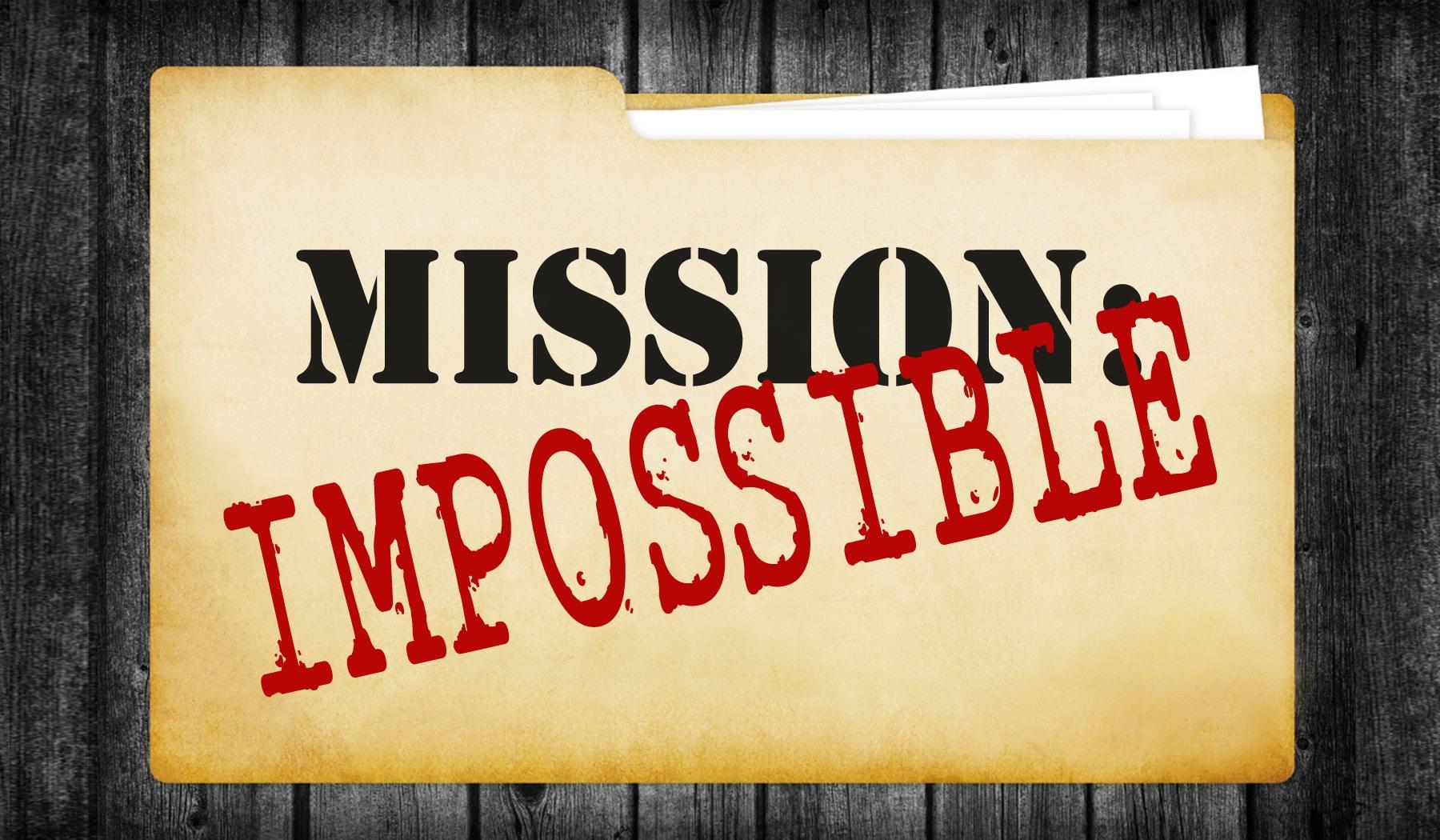 Mission Impossible Clip Art.