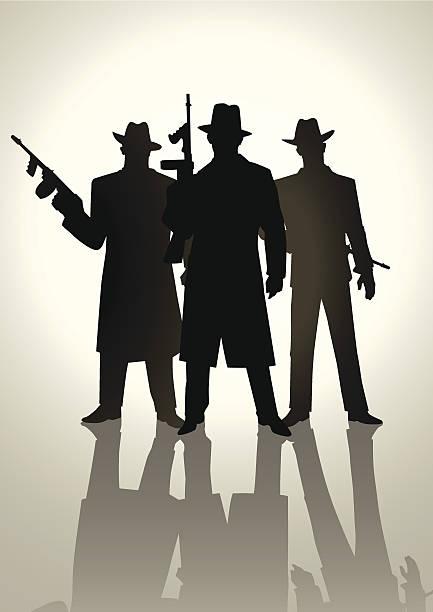 Best Gangster Illustrations, Royalty.