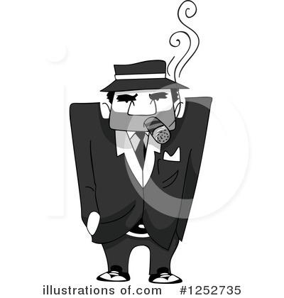 Mobster Clipart #1252735.
