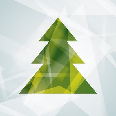 Abstract Modern Christmas Tree Clipart Picture Free Download.
