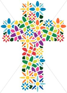 Modern Flower Clip Art.