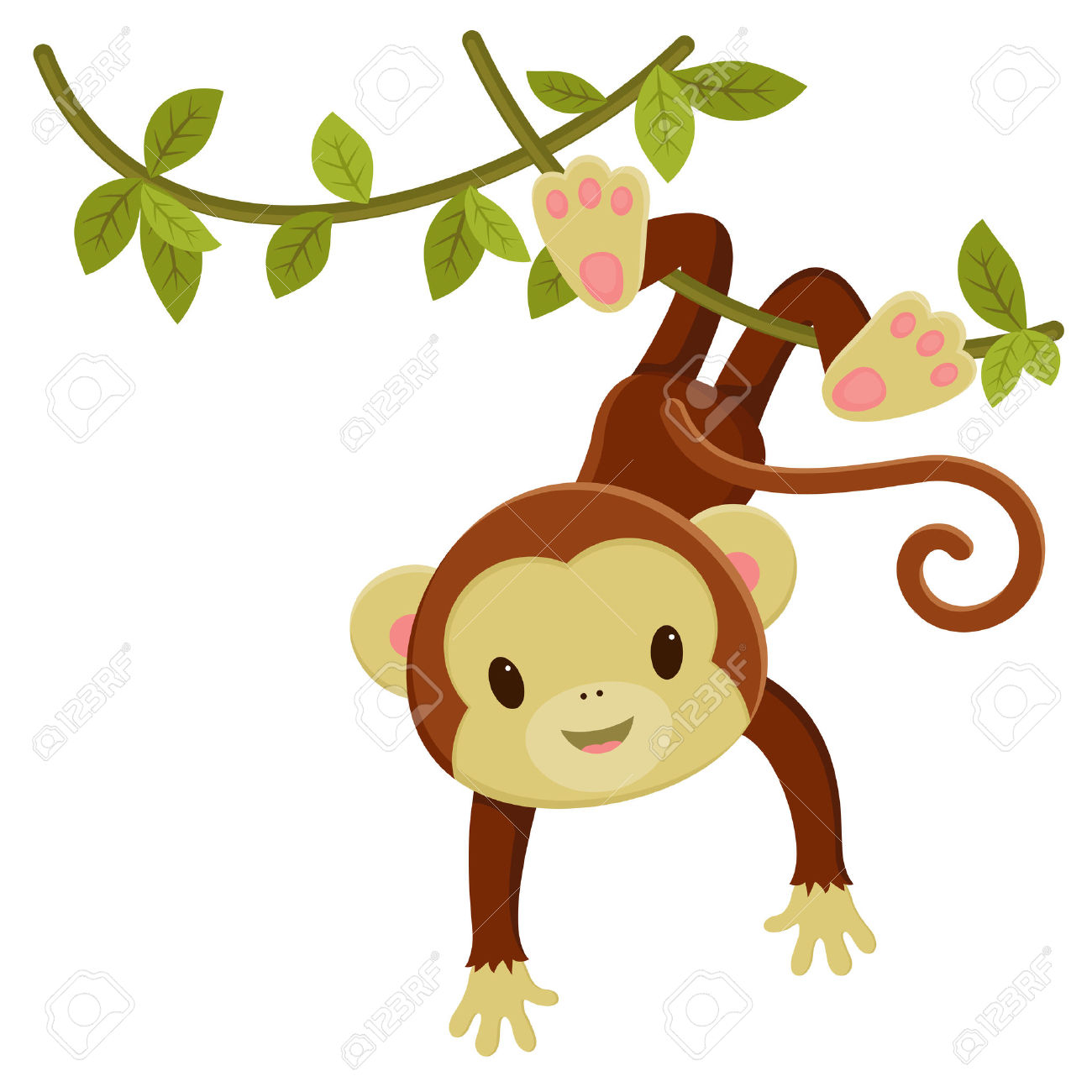 Monkey Clipart for printable to.