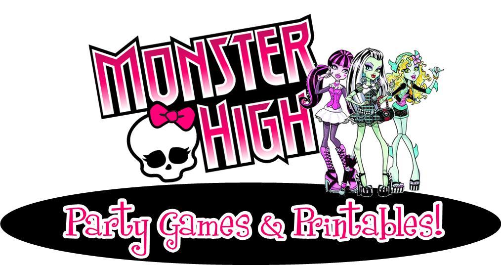 Monster High Clipart Printable.