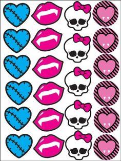 Monster High Cake Clipart.