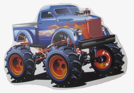 Free Monster Truck Free Clip Art with No Background.