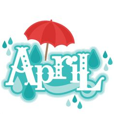 free april clip art.