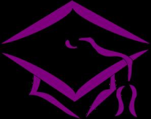 Purple Mortarboard Clip Art at Clker.com.