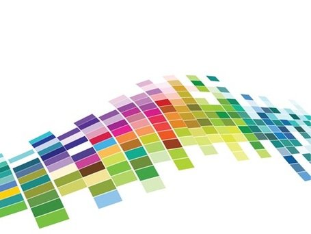 Free Vector Colorful Mosaic Pattern Background Clipart Picture.