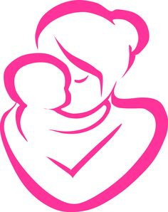 Mother And Baby Clipart Free.