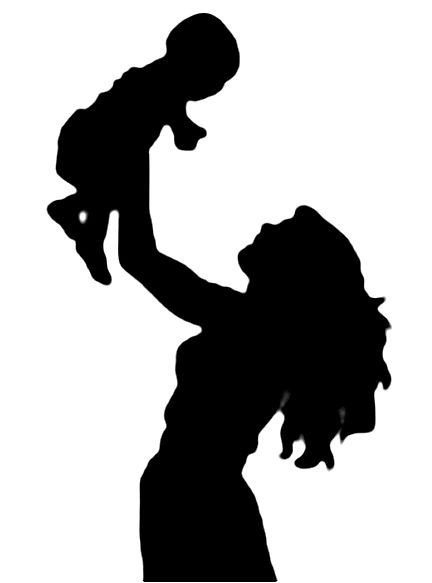 Mother Holding Baby Clipart Clipart Panda Free Clipart.
