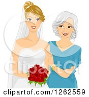 Mother of the Bride Clip Art.