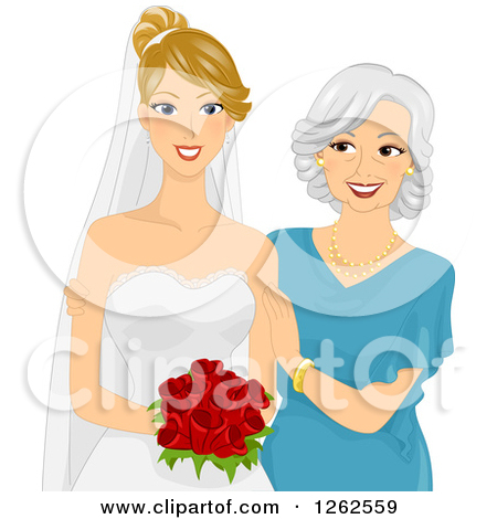 Free Mother Of The Bride Clipart.