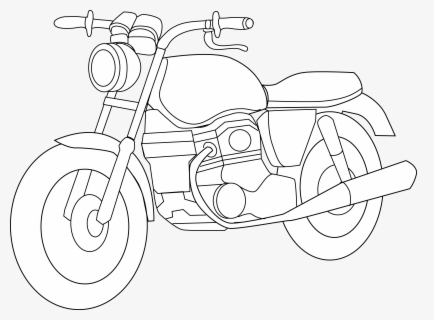 Free Motorcycle Clip Art with No Background.