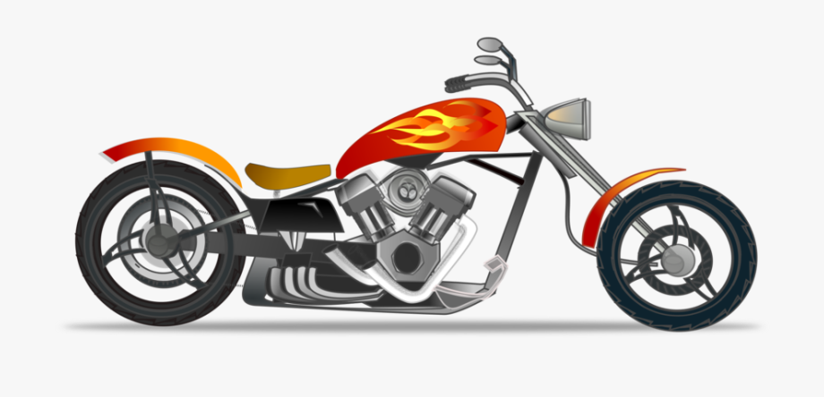 Motorcycle Free To Use Clip Art.