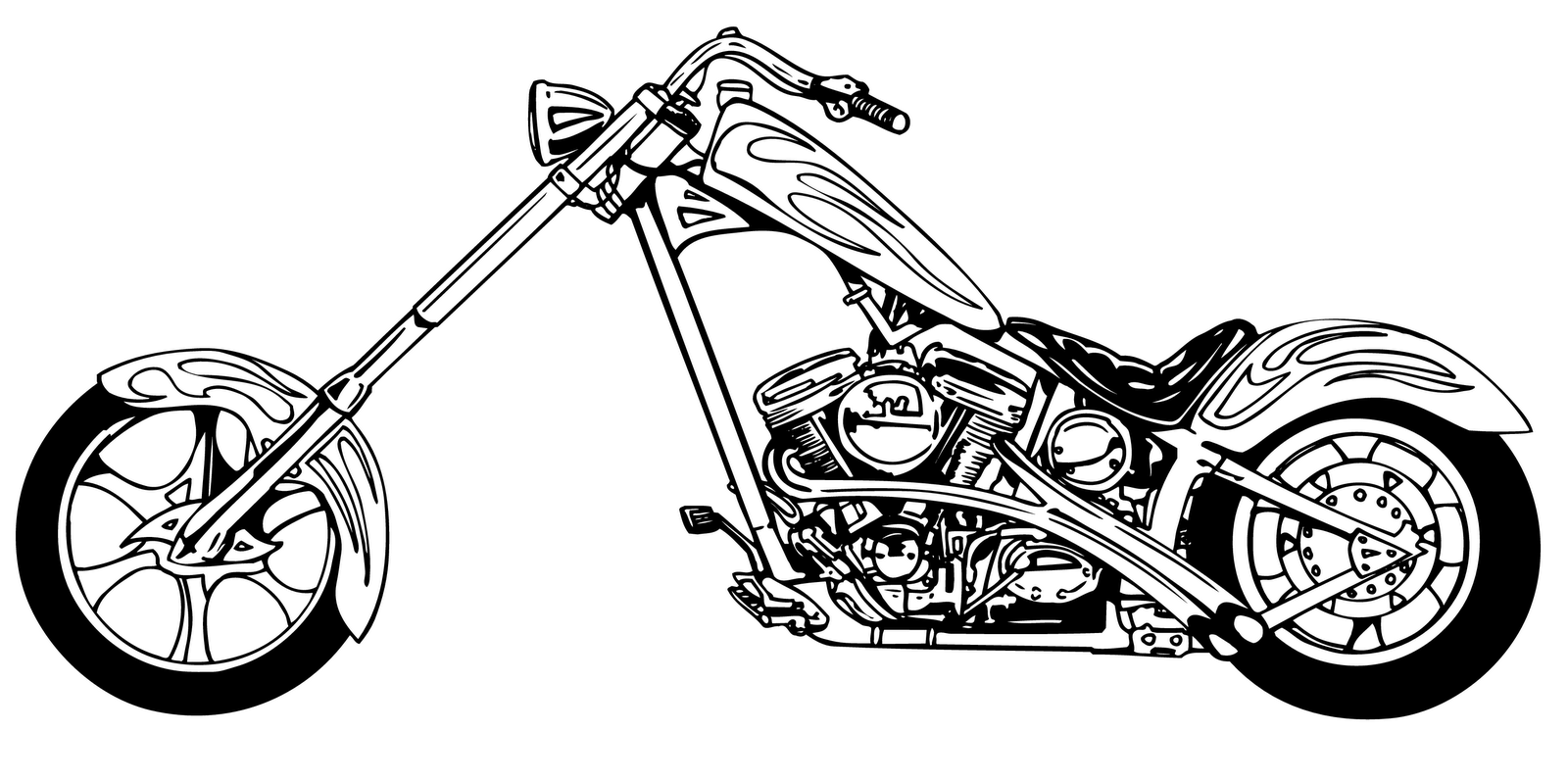 Free motorcycle clipart motorcycle clip art pictures.