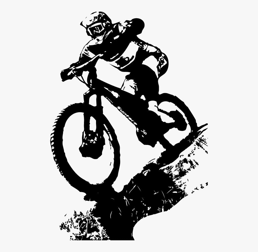 Mountain Bicycle Tattoo Cross Bike Cycling Biking Clipart.