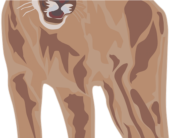 Mountain Lion Clipart Roaring Lion.