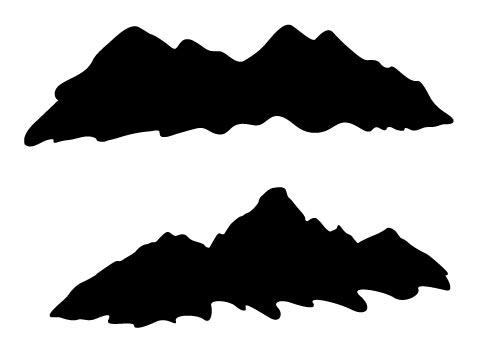 Mountain Silhouette Free.