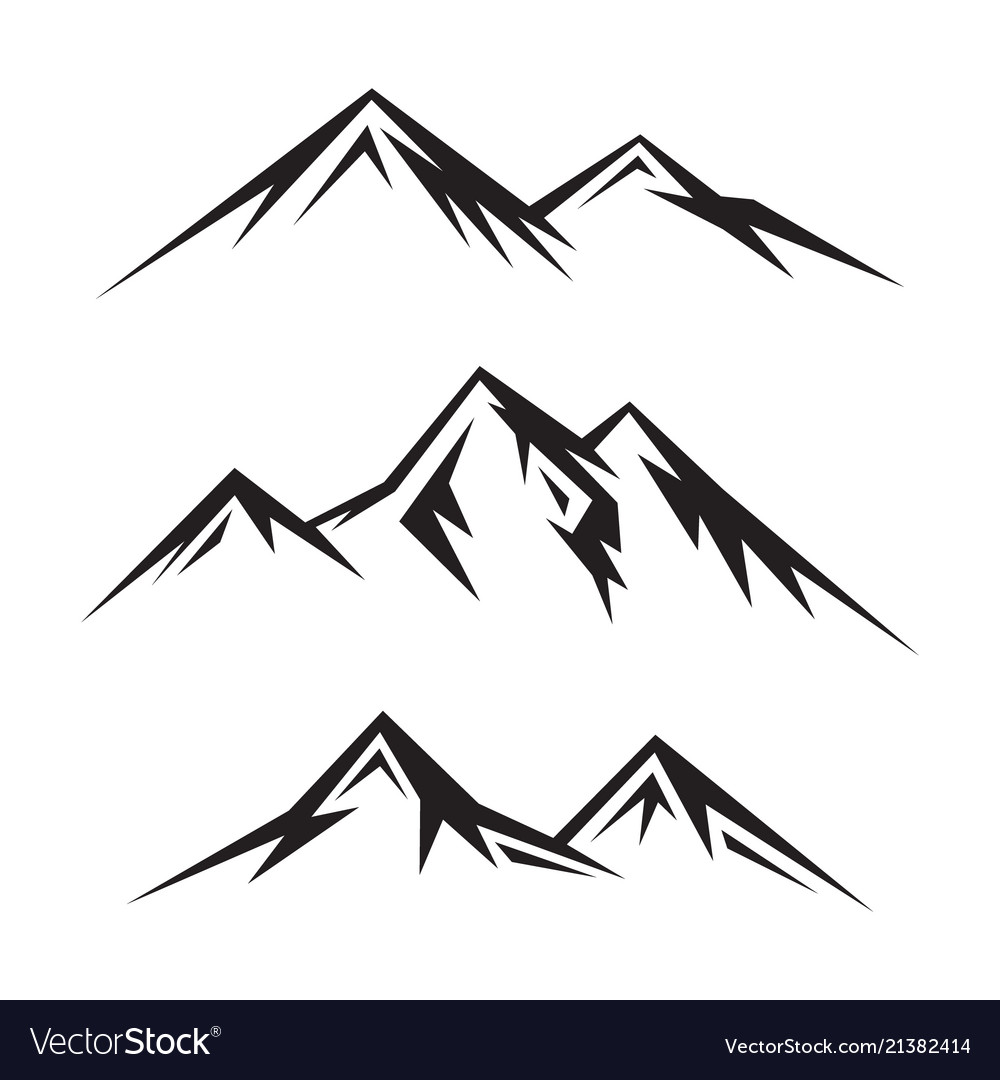 Mountain Vector Free Download Clip Art.