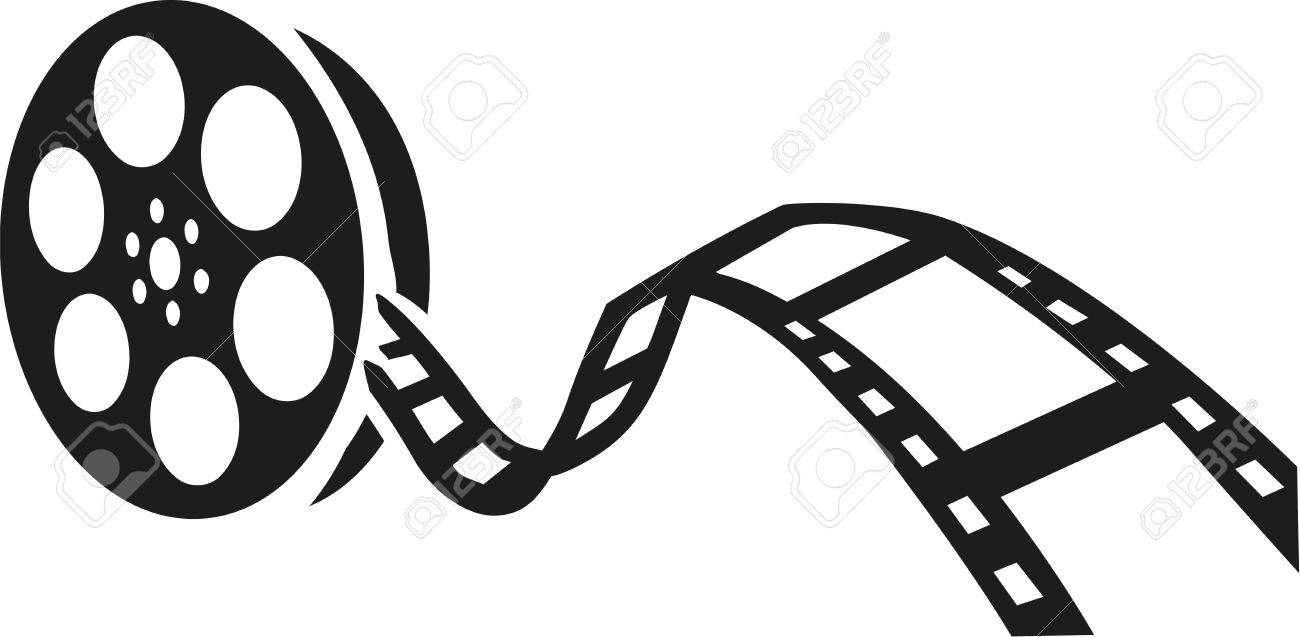545 Film Reel free clipart.