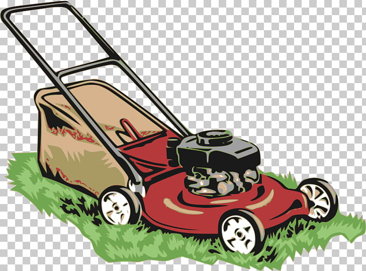 Lawn Mowers Gardening Garden tool, Lawnmower Larry PNG.