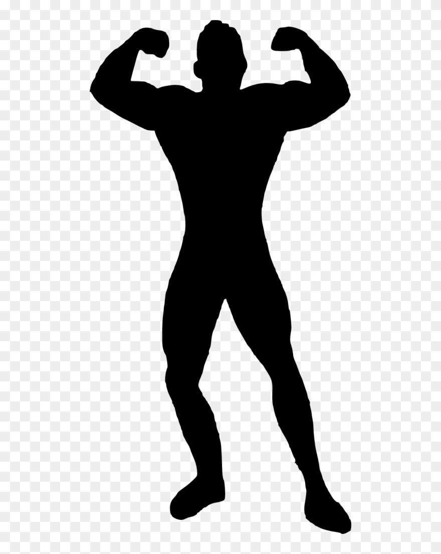 Clip Library Clipart Muscle Man.