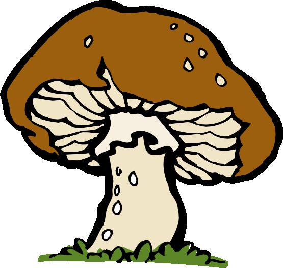 Free Mushroom Clip Art.