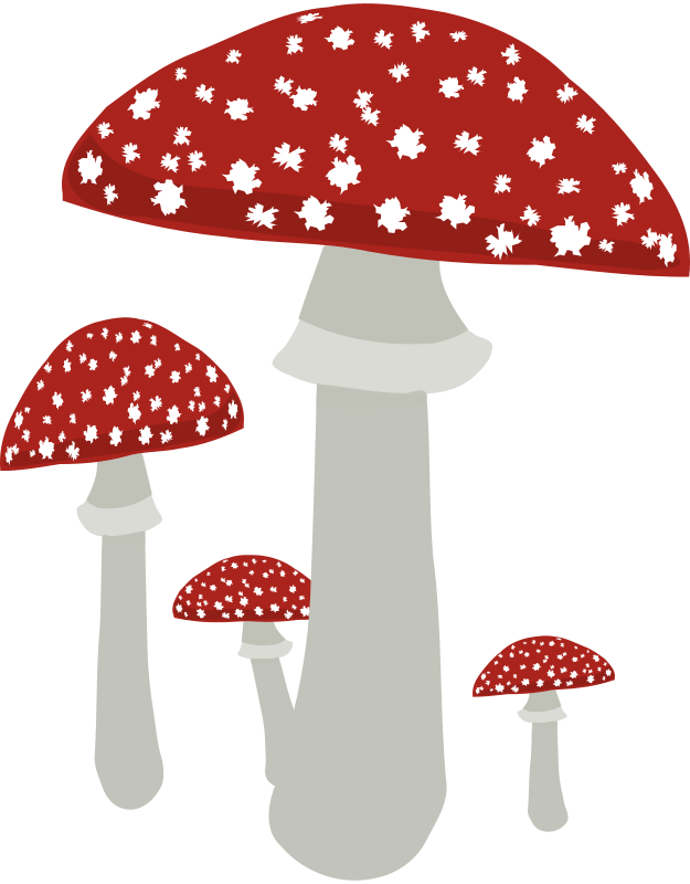 Free Clipart: Mushrooms 4.