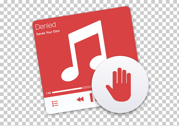 MacOS Computer Software Music, denied PNG clipart.