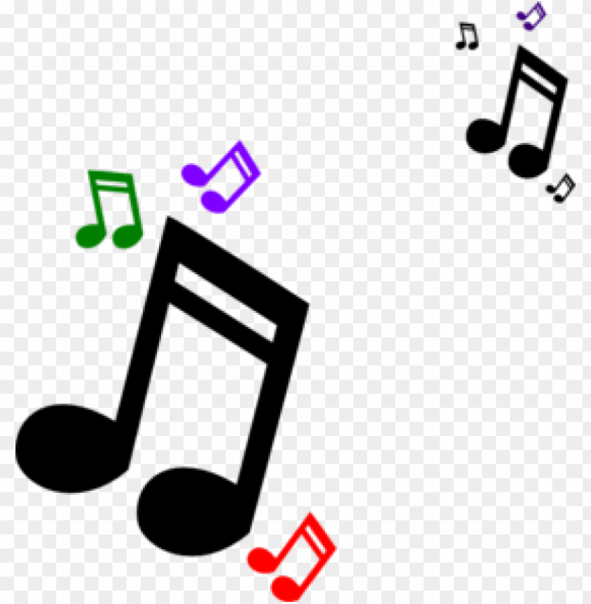 image free colorful music staff clipart.