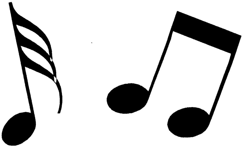 Free music symbols clipart 1 » Clipart Portal.