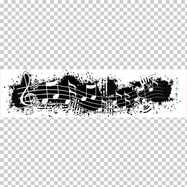 Musical note Musical theatre , Music Border PNG clipart.