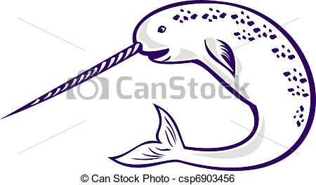 Narwhal Stock Illustrations. 406 Narwhal clip art images and.